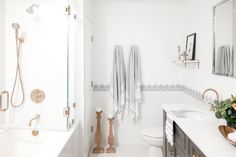Larrabee - Transitional - Bathroom - Chicago - by Design Dwellings