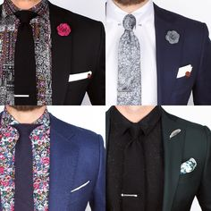 Friday inspiration Which look do you favour? www.Grandfrank.com
