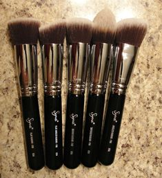 Sigma Brushes, these are the best makeup brushes ever! Makes a dramatic difference in application.....Love them!