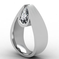 Pear Point  by Paul Bierker #ring