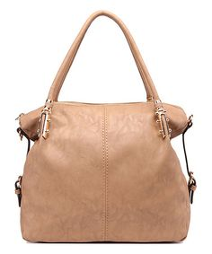 Another great find on #zulily! Camel Sarah Shoulder Bag by MKF Collection #zulilyfinds
