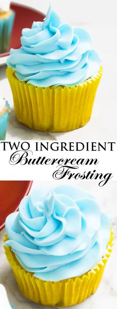 This quick and easy 2 ingredient white chocolate buttercream frosting is rich, creamy and fluffy. It's great for piping cupcakes and frosting cakes. White Chocolate Buttercream Frosting, Chocolate Ganache Cake, Chocolate Filling, Chocolate Cupcakes, Mocha Cupcakes, Strawberry Cupcakes, Velvet Cupcakes, Vanilla Cupcakes, Banana Cupcakes