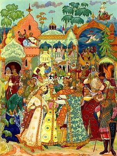 Александр Куркин художник-славянист, иллюстратор сказок
