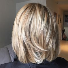 Hair by Sophie John Hair - bob hairstyles for fine hair ideas - Modern Bob Hairstyles, Bob Hairstyles For Fine Hair, Hairstyles Haircuts, Pretty Hairstyles, Medium Hair Styles, Short Hair Styles, Layered Hair, Great Hair, New Hair