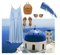 """""""Greece ♥ sun🌞 sea 🏝  🇬🇷🇬🇷🇬🇷🇬🇷"""" by aggeliki27796 on Polyvore featuring River Island, Hollister Co., Eyeko, Mansur Gavriel and Marni"""