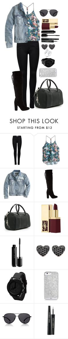 """Untitled #540"" by fabianarveloc on Polyvore featuring ONLY, H&M, J.Crew, Lanvin, MANGO, Yves Saint Laurent, The Row and Dolce&Gabbana"