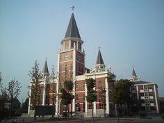 Wu Xi Dong Ting Christian Church, Jiangsu Province, PRC
