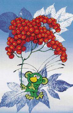 Illustration Zdeněk Smetana Illustrators, Fairy Tales, Illustration Children, Childhood, Children Books, Retro, Czech Republic, Flowers, Kids