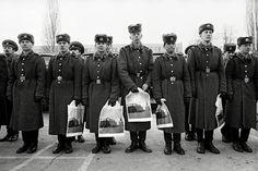 Sovětští vojáci, foto by Dana Kyndrová