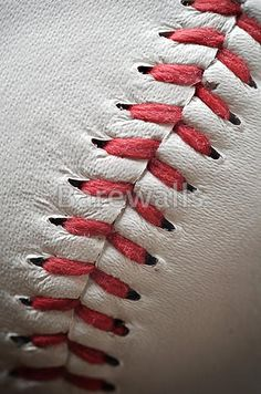 Art Print of Photo of close up baseball. Search 33 Million Art Prints, Posters, and Canvas Wall Art Pieces at Barewalls. Baseball Posters, Baseball Art, Baseball Painting, Baseball Stuff, Iphone Wallpaper Sports, Baseball Wallpaper, Baseball Senior Pictures, Mlb, Auburn Football