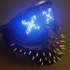 Awesome Wrench led mask at kcrazycustoms.com dedsec watchdogs2 mask #wrench #wrenchmask