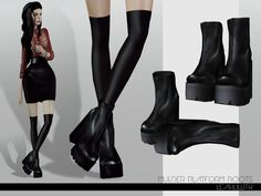 Leah lillith's leahlillith mulder platform boots * sims * sims, sims the Sims 4 Mods Clothes, Sims 4 Clothing, Sims Mods, Female Clothing, Sims 3 Shoes, Vêtement Harris Tweed, Free Sims 4, Sims 4 Collections, Sims 4 Teen