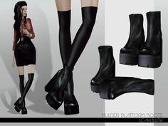 Leah Lillith's LeahLillith Mulder Platform Boots
