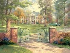 Graceland... The city has grew up around it. We lived in Millington for just shy of one year. My husband always called Memphis the armpit capital of the w
