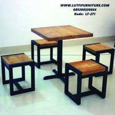 Steel Furniture Design Diy 63 Ideas For 2019 Welded Furniture, Iron Furniture, Steel Furniture, Deco Furniture, Home Decor Furniture, Industrial Furniture, Furniture Makeover, Furniture Design, Industrial Pipe