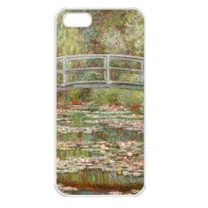 Claude Monet Bridge Over A Pond of Water Lilies Seamless White Case for iPhone 5 | eBay