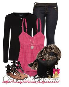 Untitled #92 by candy420kisses on Polyvore featuring polyvore fashion style Juicy Couture Banana Republic clothing