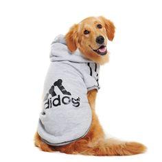 Pet Dog Winter Coat Jacket Clothing For Big Dog Golden Retriever Labrador Dog Hoodie Sports Style Golden Retriever Labrador, Golden Labrador, Golden Retrievers, Large Dog Clothes, Pet Clothes, Chihuahua Clothes, Cheap Clothes, Big Dogs, Large Dogs