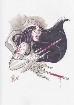Elektra by Nick Bradshaw