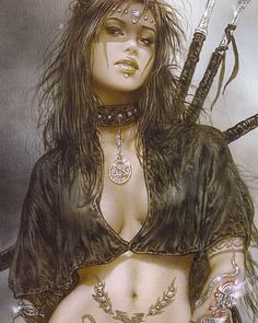 Artwork by Luis Royo (cropped)