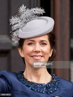 Crown Princess Mary of Denmark leaves the Town Hall after lunch... News Photo | Getty Images