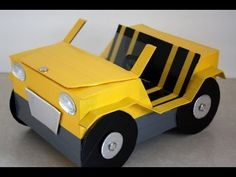"How to Make a Doll Car for your 18"" dolls"