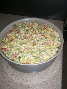 Sałatka z selera naciowego Appetizer Salads, Appetizers, Tzatziki, Coleslaw, Potato Salad, Grains, Rice, Potatoes, Vegetarian