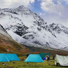 Photo by @the_punjabi_wanderer  This is Kara Lake campsite enroute Bhabha Pass  The beautiful Bhabha valley is situated in the east of river Sutlej in Kinnaur district of Himachal Pradesh. It is located along the river Bhabha and is well known for its splendid picturesque Reservoir Lake and alpine meadows. No wonder its amazing beauty makes it an ideal place for the tourists and numerous trekkers.  Kinnaur is about 250 Km from Shimla on National Highway-22. It is a pleasant uphill journey…