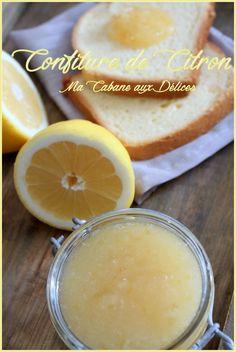 Confiture ou marmelade de citron