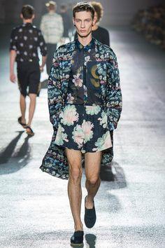 Dries Van Noten Spring 2014 Menswear Collection Slideshow on Style.com