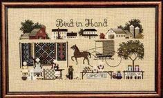 Bird in Hand by Told in a Garden - Cross Stitch Kits & Patterns