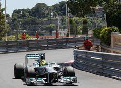 Nico Rosberg 30 years after his father Keke Rosberg triumph at Monte Carlo Monaco F1 GP