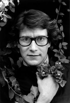 A portrait of Yves Saint Laurent in Marrakech, 1976. Photo: Pierre Boulat.