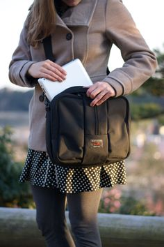 The Co-Pilot travel bag (meets the new personal carry on guidelines!)