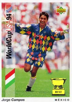 a9a0f30972e 7 best Jorge Campos images | Football cards, Football jerseys, Football kits