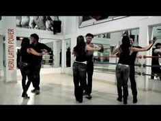 Salsaton - salsa/reggaeton FITNESS routine - YouTube