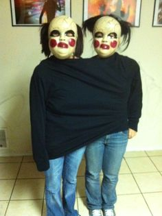 Scary Homemade Halloween Costumes