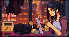 VA-11 HALL-A: Cyberpunk Bartender Action |OT| Do Androids Drink To Electric Beats? - Page 12 - NeoGAF