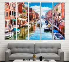 Venice canvas Venice wall art Venice wall decor Venice print Grand Canal print Grand Canal wall art Grand Canal wall decor Grand Canal print by ArtWog Oversized Wall Art, Jesus Painting, Thing 1, Italy Art, Extra Large Wall Art, Office Wall Decor, Grand Canal, Rest Of The World, Home Art
