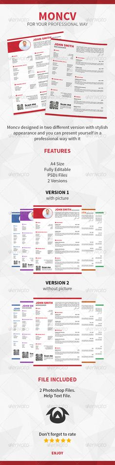 General Resume Template Template, Fonts and Creative resume templates - different resume templates