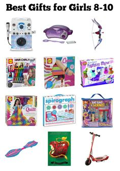 best gifts for 8 to 10 year old girls - What To Get An 8 Year Old For Christmas