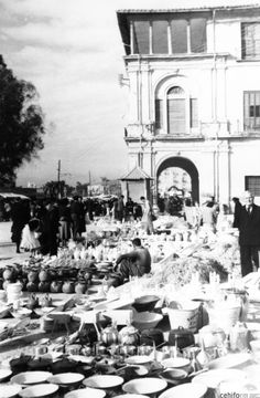 Murcia, Patio, Lights, Vintage, Antique, Wanderlust, Old Photography, 19th Century, Antique Photos