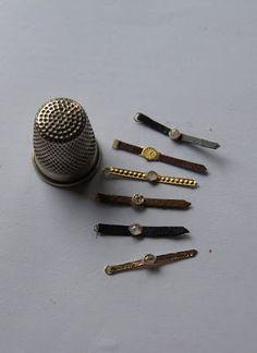 Nono mini Nostalgie: Tutorial montres miniatures