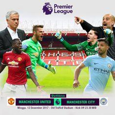 Super Sunday The Battle Of Manchester  Match Poster Manchester United Vs Manchester City