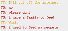 Dave never, ever fails to crack me up. This is why i read homestuck, right here. More than the feels, it's the humor. <3