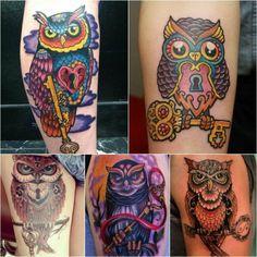 46137d0ac owl tattoo - owl tattoo meaning - owl tattoos designs Simple Owl Tattoo, Owl  Tattoo