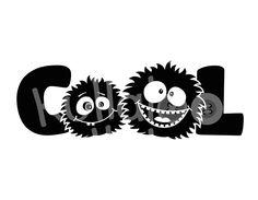 """Plotterdatei SVG, DXF - COLLE KULLER """"COOL"""" von kullaloo - Schnittmuster, Stickdateien, Plüsch uvm. auf DaWanda.com"""
