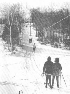 Ski-Horse Mountain:  The ski resort that my grandparents owned in Maine.