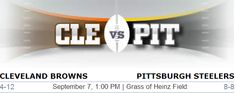 Cleveland Browns vs. Pittsburgh Steelers NFL Preview - #CLEvsPit #Browns #Steelers #Cleveland #Pittsburgh #NFL #Football