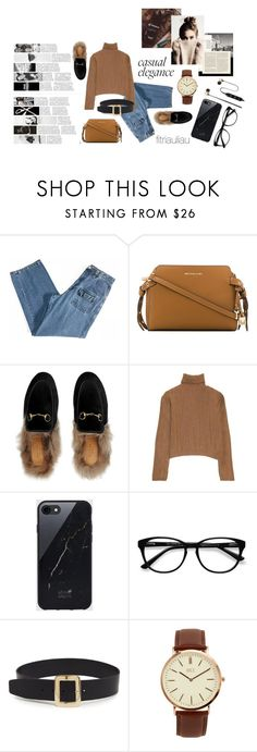 Your Basic Stuffs by fitriauliau on Polyvore featuring Gucci, MICHAEL Michael Kors, BKE, diverse, Sefton, Polaroid and EyeBuyDirect.com